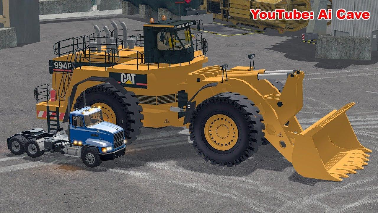 The Biggest Wheel Loader Mod In Farming Simulator 2017