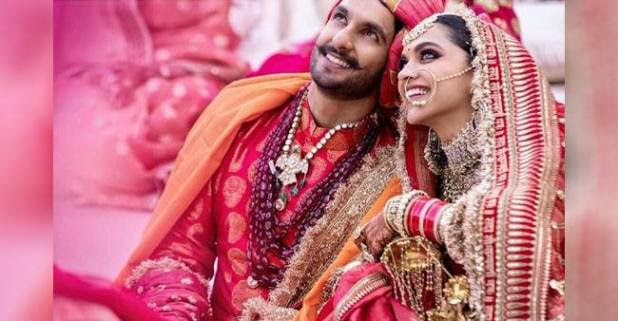 Recent pictures of DeepVeer from the wedding gallery of are breaking the internet
