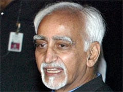 Writers' Role Critical in 'Inducing Sanity' in Society: Hamid Ansari