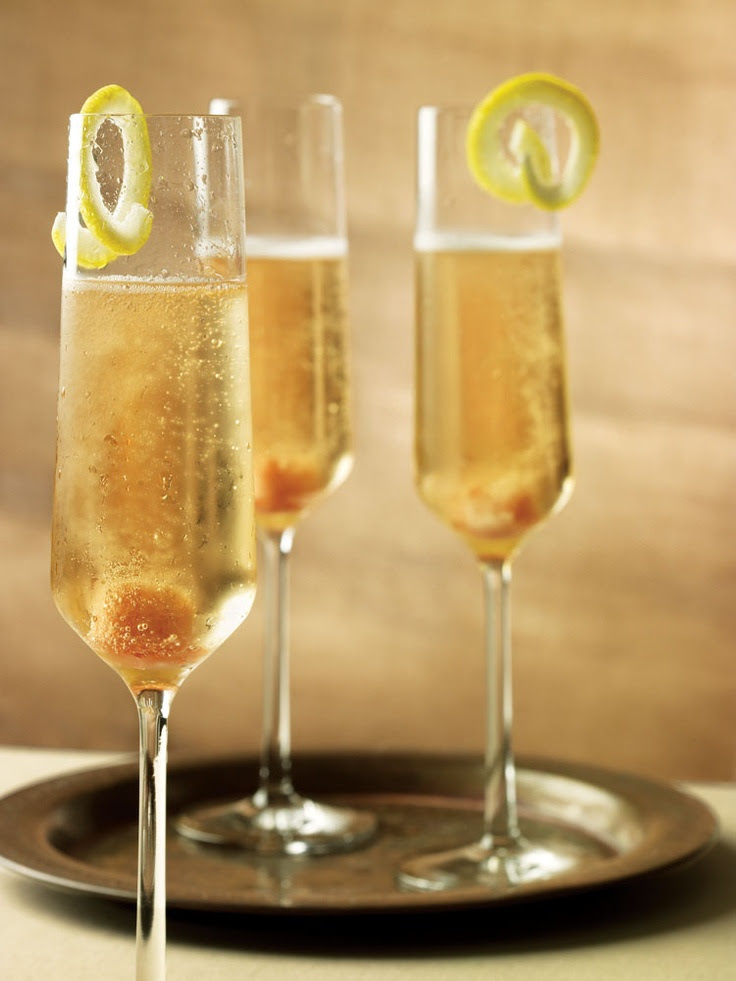 The Ritz-Carlton: St. Germaine and Champagne (recipe)