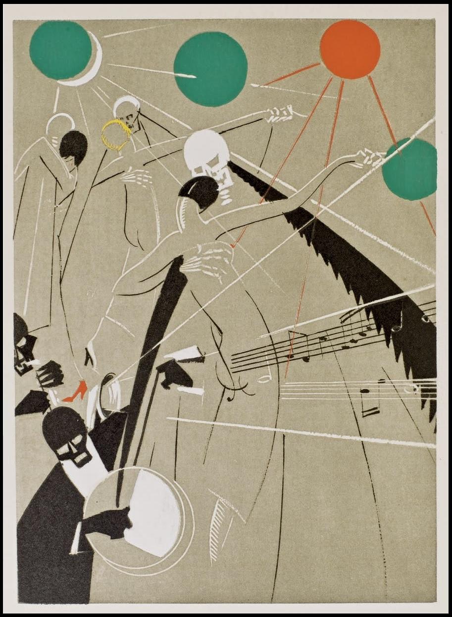 La Danse Macabre, 1927 Yan-Bernard Dyl (Ill.) , Pierre Mac Orlan