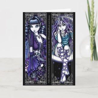 Mia & Venus Moon Fairy Bookmarks card