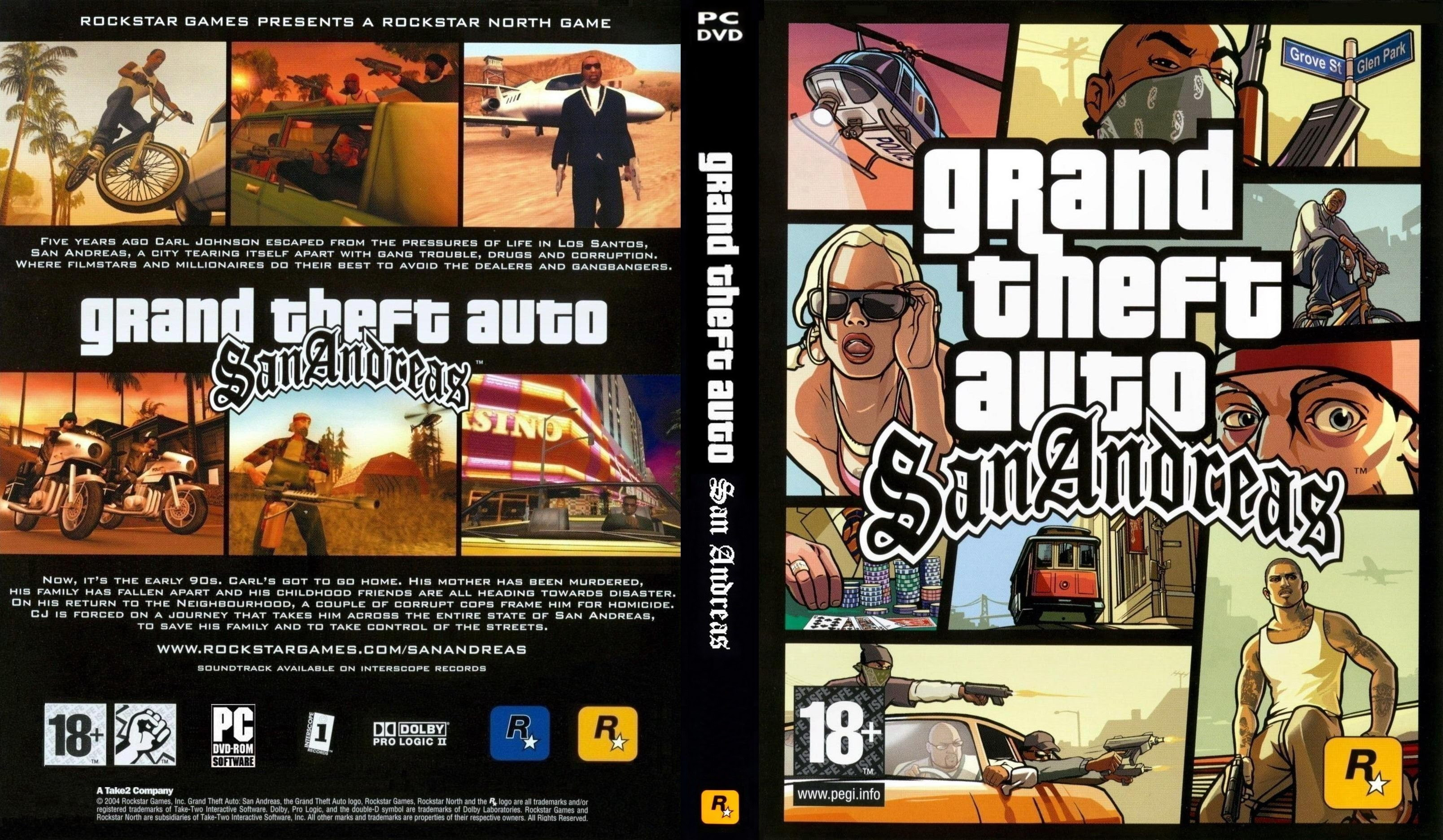 Grand Theft Auto San Andreas | Repack By Mr.DJ