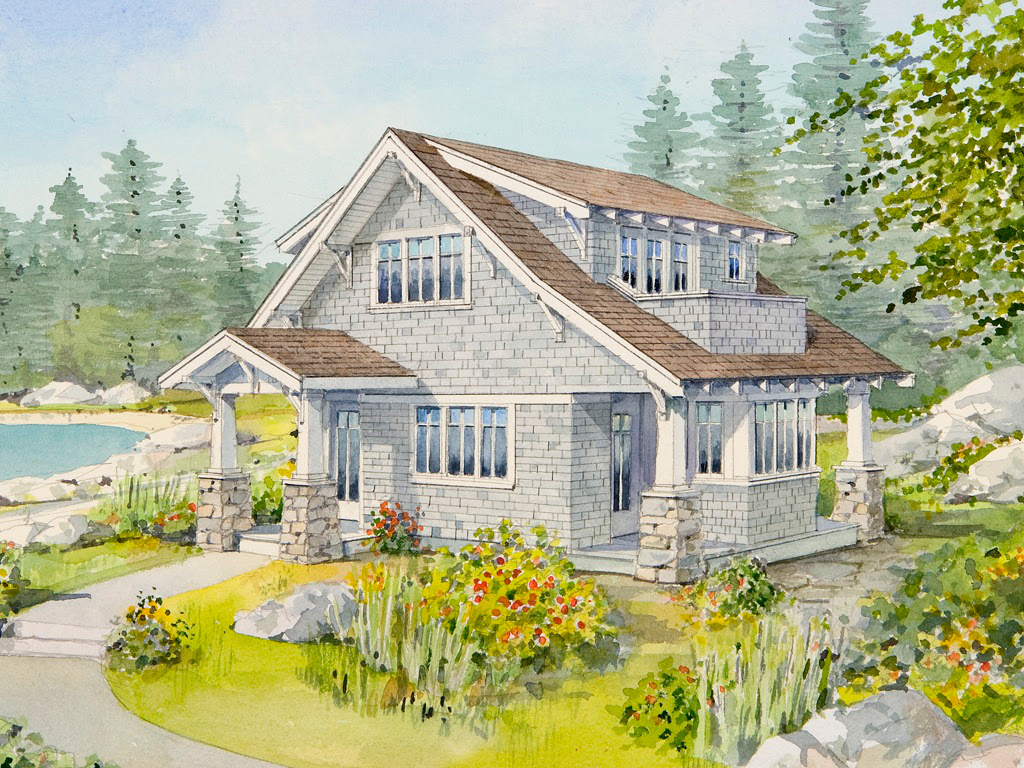 Live Large in a Small House with an Open Floor Plan Bungalow Company - Small House Plans For Sale Small House Bliss