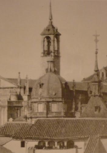 Torre del Reloj de la Catedral de Toledo desde San Cristóbal