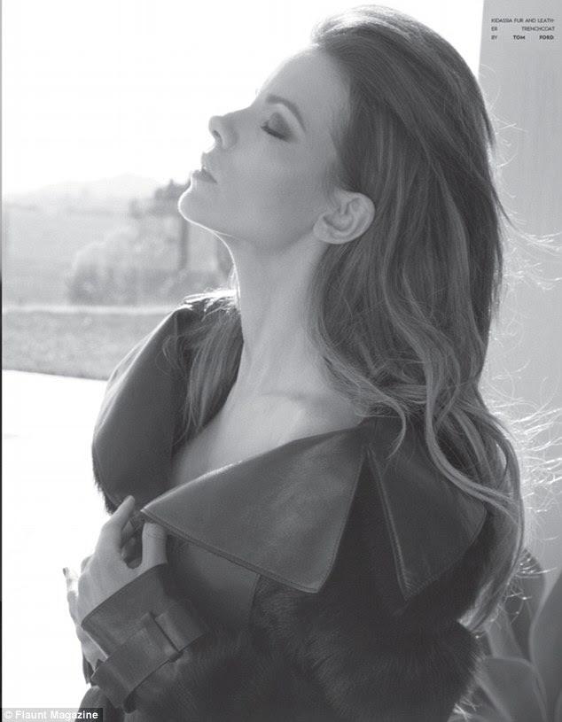 Inglês rose: A atriz de 38 anos de idade revela que ela é realmente apenas uma criança no coração, constantemente pranking seu marido Len Wiseman