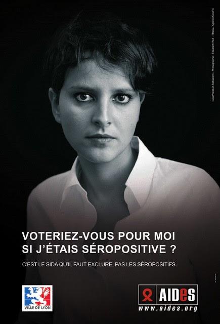 Campagne Sida Najat Vallaud Belkacem