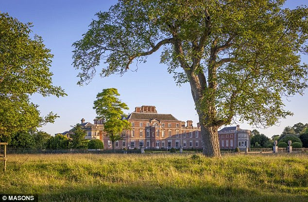 17th Century National Trust property, Wimpole Hall, near Cambridge, above
