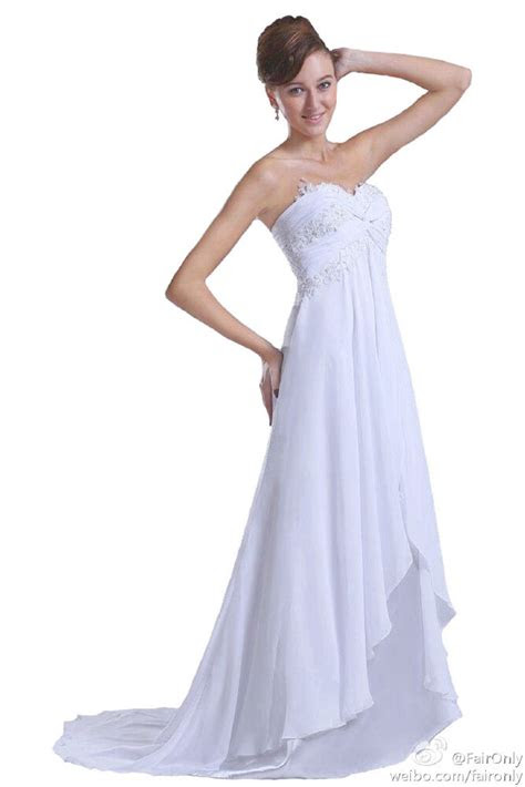 elegance beach sweetheart bridal gown wedding dress