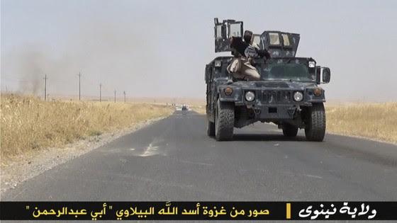 ISIS Holds Parade With Captured US Military Vehicles ISIS Ninewa photos Jun24 9 thumb 560x315 3298
