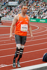 Oscar Pistorius at Bislett Games 2009