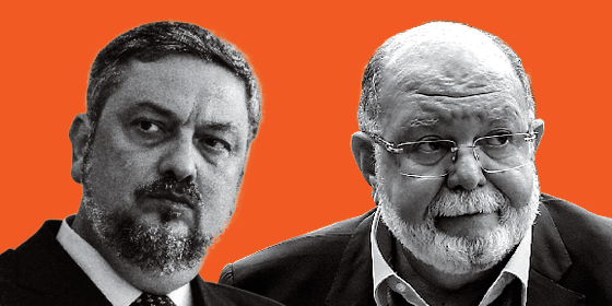 Antonio Palocci e Léo Pinheiro (Foto: Ueslei Marcelino/Reuters, Paulo Lisboa/Brazil Photo Press/Folhapress)