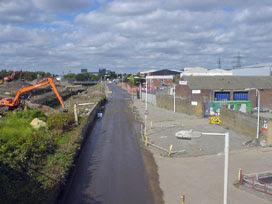 Marshgate Lane, September 2007