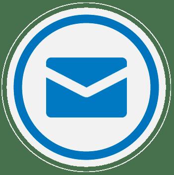 Síguenos a través del correo