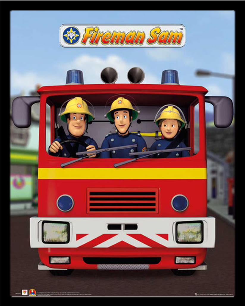 Feuerwehrmann Sam - Jupiter - TV Serie Mini Poster Plakat ...