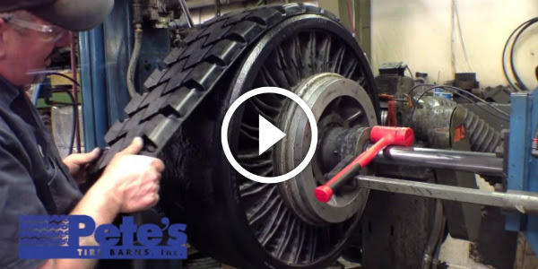 Future Is Now Tweel Tires This Is How The Tweel Airless Skid Steer Tires Are Made Amazing