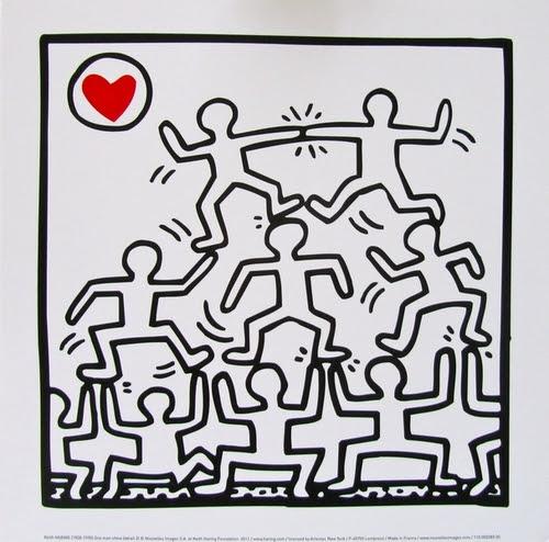 Séquence autour de Keith Haring