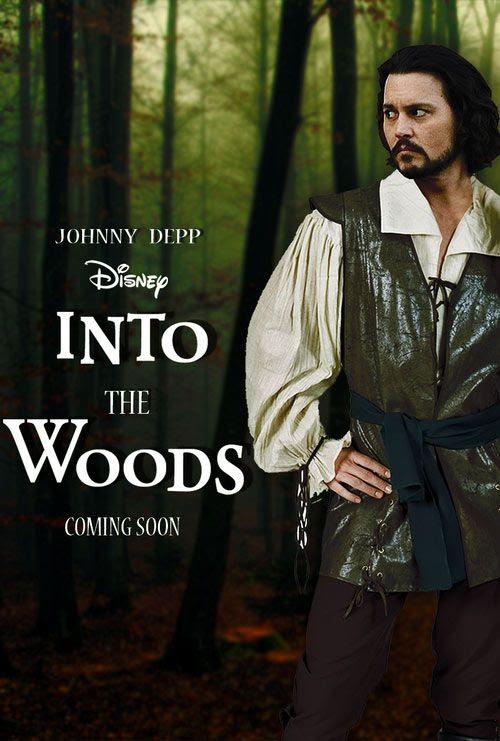 Johnny Depp's choice for eccentric roles continues - for his next movie, Johnny will be playing The Wolf in the comedy adventure INTO THE WOODS by Rob Marsh