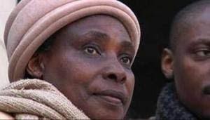 Agathe Kanziga, veuve Habyarimana, vit en France.