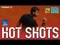 Hot Shot: Dimitrov's Delicate Half Volley At Madrid 2017