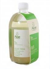 Aloe Vera Puro Succo e Polpa da Foglia Fresca - Flacone Vetro 500 ml