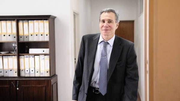 Datos. Nisman, el miércoles, tras dar a conocer su denuncia. / FERNÁNDEZ