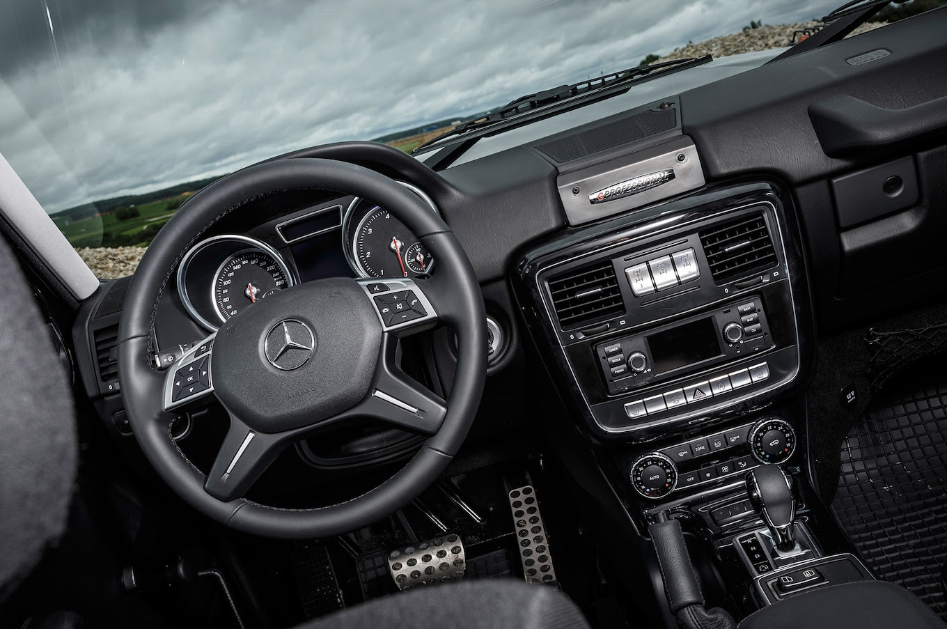 Mercedes G350 d Professional Brings the G-Wagen Back to ...