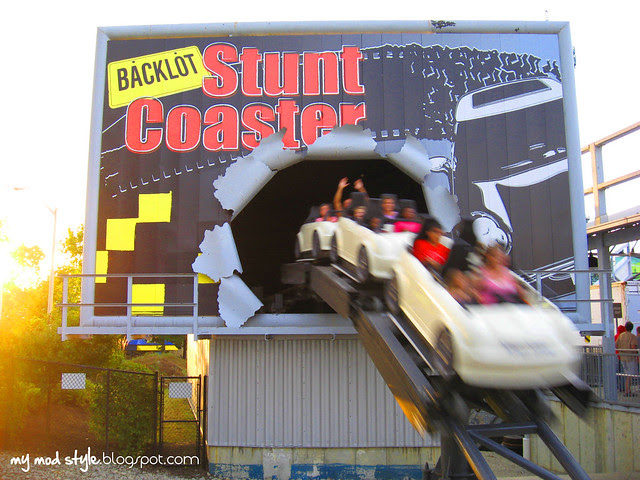 Kings Island Stunt Coaster 1