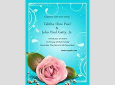 Free online wedding invitation cards ? Festival Around the World