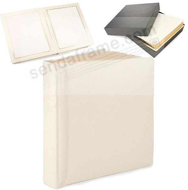 Wedding Cream Slip In Mat Photo Album For 24 5x7 Prints By Eccolo