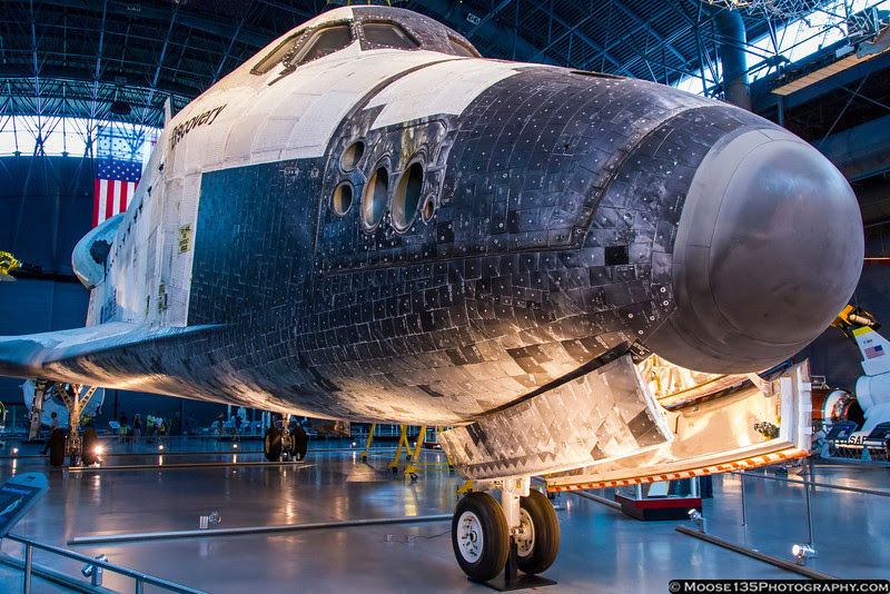 July 27 - Up close with Space Shuttle Discovery at the National Air and Space Museum.