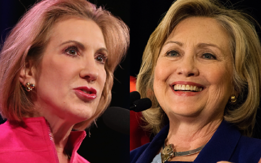 fiorina-and-clinton