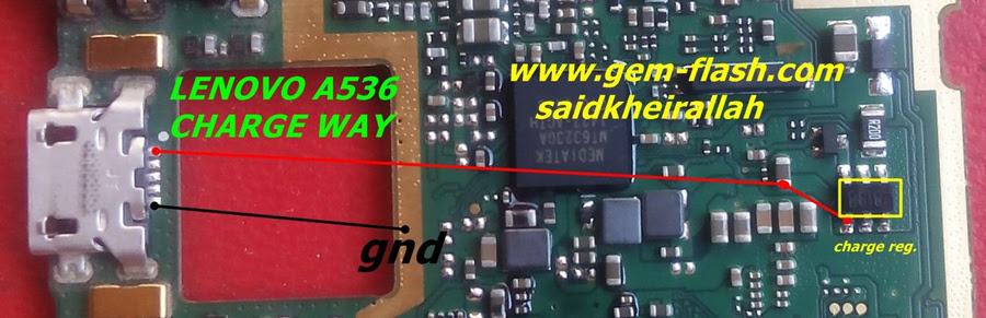 Lenovo A536 Charging Solution Jumper Problem Ways