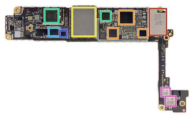 Iphone 6 Plus Motherboard Diagram / Leaked Iphone 6s ...