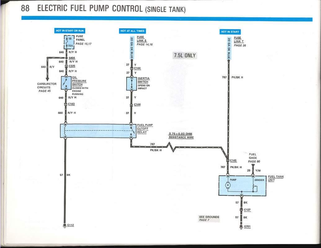 85 F350 Wiring Diagram - Wiring Diagram Networks