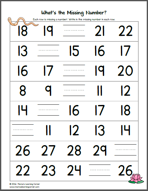 Pond Worksheets For Kindergarten And First Grade Mamas
