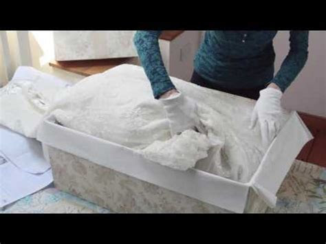 Empty Box Company Wedding Dress Storage Boxes with Acid