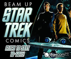 Find Star Trek comics, toys, statues, and collectibles at TFAW.com!