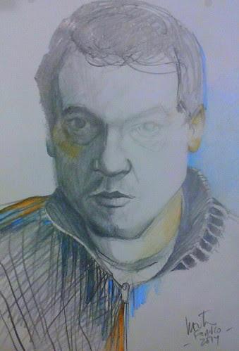 Selfportrait by dibujandoarte