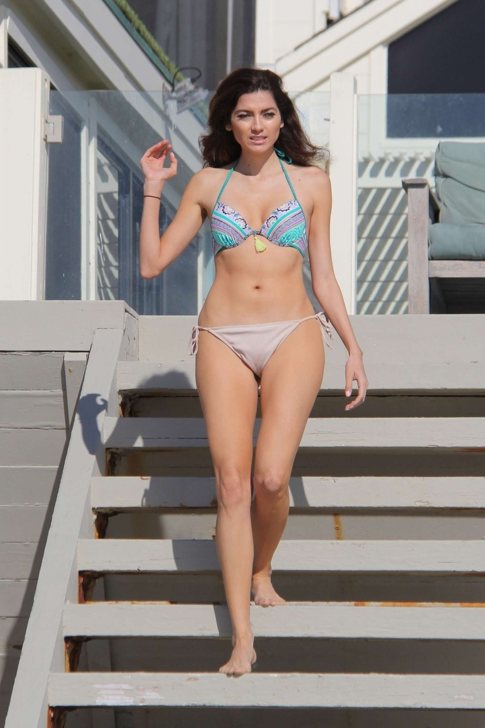 Blanca Blanco – Bikini Candids at the beach in Malibu