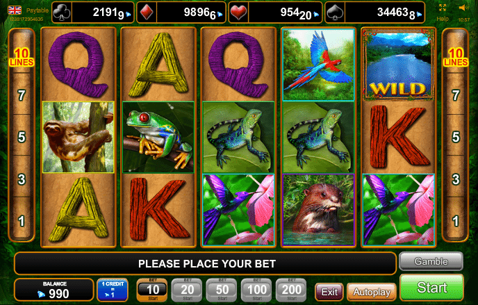 Jan 02, · Amazing Amazonia casino slot machine game is an exciting animal-themed online game.The interface of this video slot has colorful animal portraits.EGT Company has professionally pondered on its functional and design sides.5/5(31).Niğde