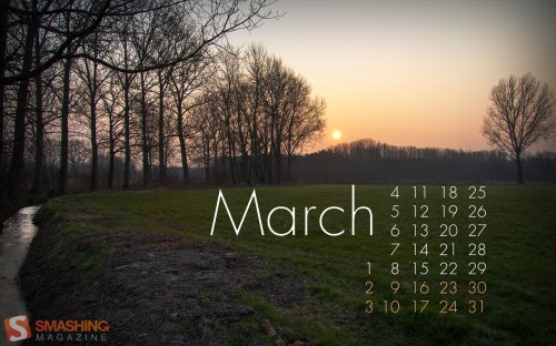 Smashing Wallpaper - march 13