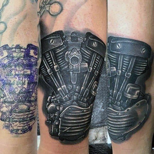 60 Cover Up Tattoos For Men Concealed Ink Design Ideas