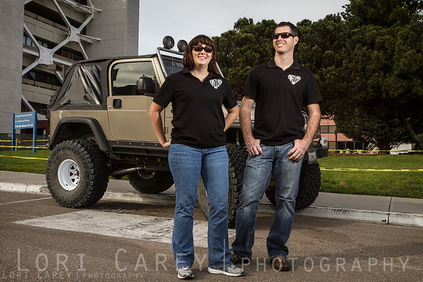 Jen and Mark Schultz of 4 Wheel To Heal