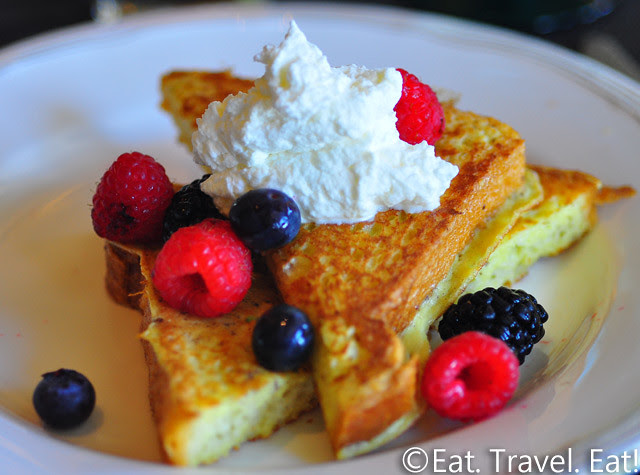 St Regis Monarch Beach- Dana Point, CA: Motif- Breakfast Buffet, French Toast