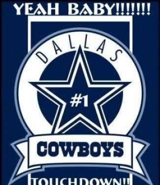 Logo Dallas Cowboys Touchdown