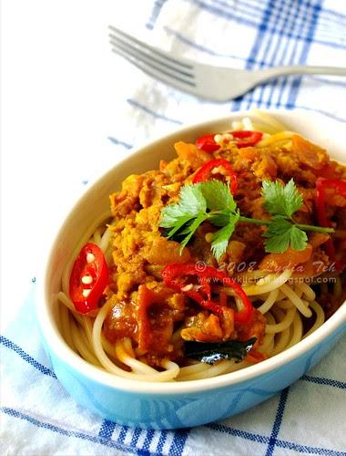 Curry Spaghetti