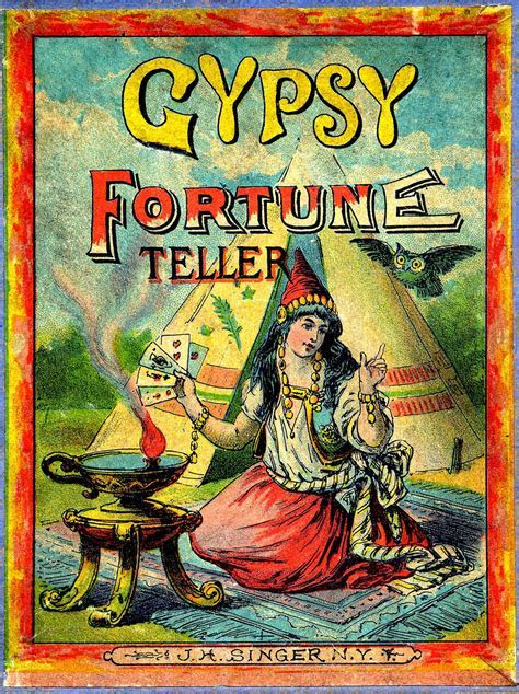 Antique Graphic   Gypsy Fortune Teller   The Graphics Fairy