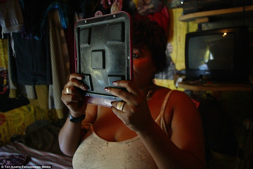 Sex workers are highly at risk from contracting HIV in Lagos, where an estimated 1.2 million people have the condition