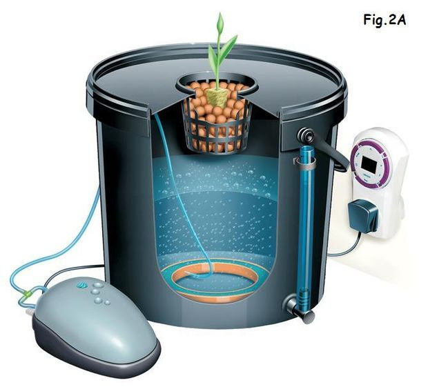homemade indoor hydroponic systems